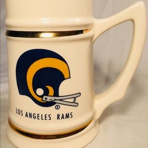 Vintage Los Angeles Rams mug/stein 70's/80's